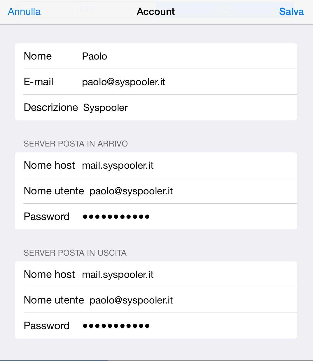 Assistenza iPad 16
